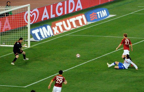 Roma+Sampdoria+Coppa+Italia