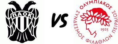 PAOK-vs-Olympiakos-Piraeus+logo