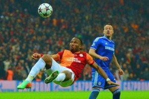 dorgba_and_therry_chelsea vs Galatasaray at Stamford Bridge
