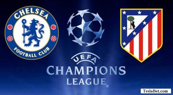 Chelsea vs Atletico Madrid logo