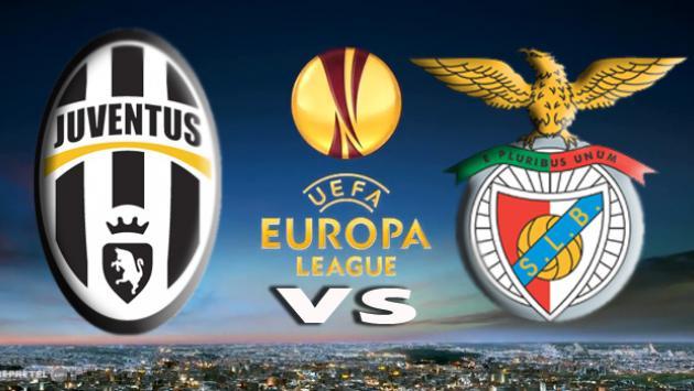 UEFA Europa League Juventus vs Benfica logo