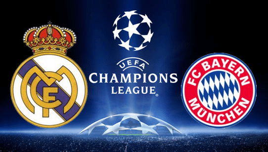 Image Result For Bayern Munich Vs Real Madrid Live Champions