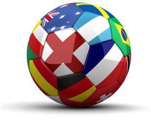 international friendly match logo