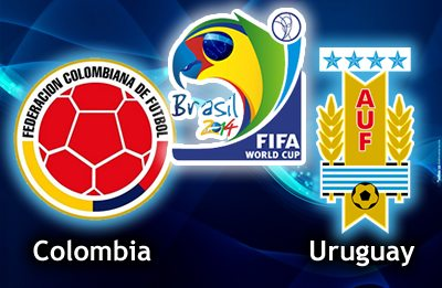 Colombia-vs-Uruguay-world-cup-2014-logo