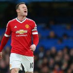 LONDON, ENGLAND - FEBRUARY 07 :  Wayne Rooney of Manchester United shouts during the Barclays Premier League match between Chelsea and Manchester United at Stamford Bridge on February 7, 2016 in London, England.  (Photo by Catherine Ivill - AMA/Getty Images)