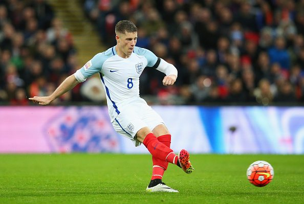 LONDON, ENGLAND - MARCH 29:  Ross Barkley of England in action during the International Friendly match between England and Netherlands at Wembley Stadium on March 29, 2016 in London, England.  (Photo by Alex Livesey - The FA/The FA via Getty Images)