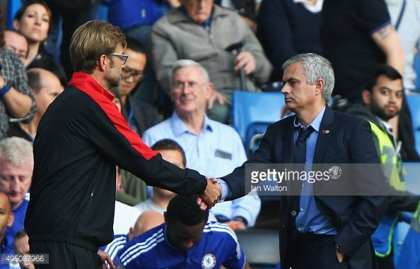 jurgen-klopp-vs-jose-mourinho-liverpool-vs-manchester-united