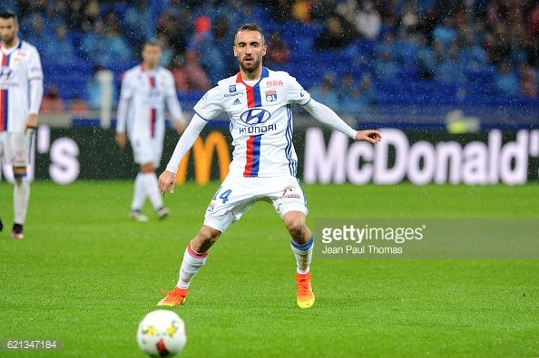 Sergi DARDER of Lyon during the Ligue 1 match between Olympique Lyonnais and SC Bastia at Stade de Gerland on November 5, 2016 in Lyon, France. (Photo by Jean Paul Thomas/Icon Sport)