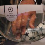 Champions League draw balls