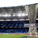 UEFA Europa League trophy, ajax v manchster united