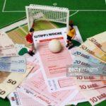 betting slips and money