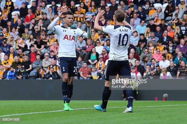 Dele Alli and Harry Kane, Tottenham Hotspur