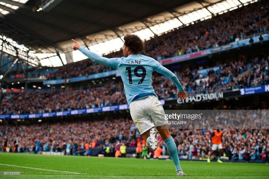 Leroy Sane , Manchester City