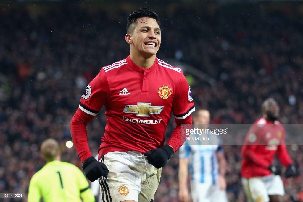 Alexis Sanchez , Manchester United