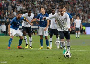 Antoine Griezmann penalty, France football national team