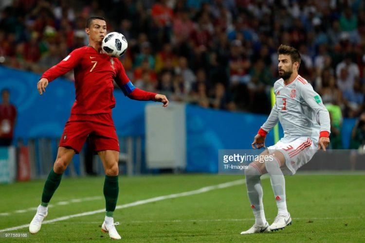 Cristiano Ronaldo of Portugal, World cup 2018
