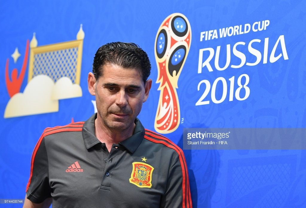 Fernando Hierro, newly appointed head coach of Spain, World Cup 2018