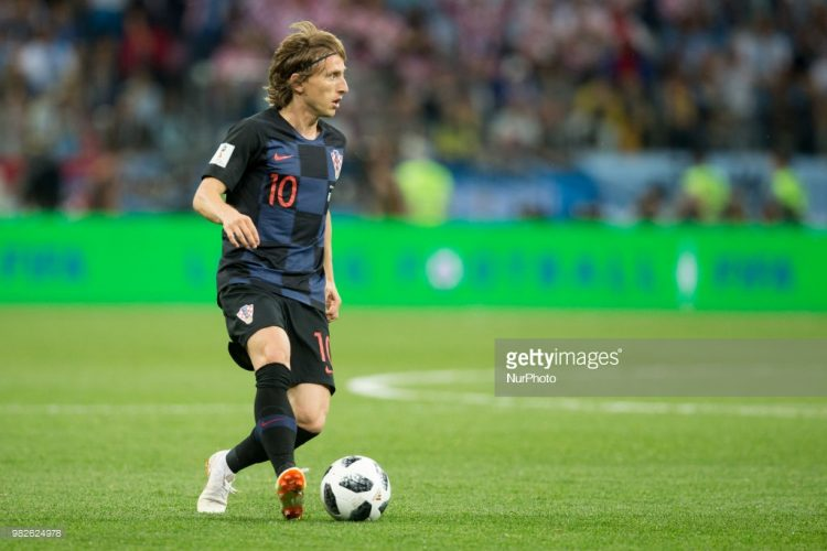 Luka Modric , Croatia, World cup 2018
