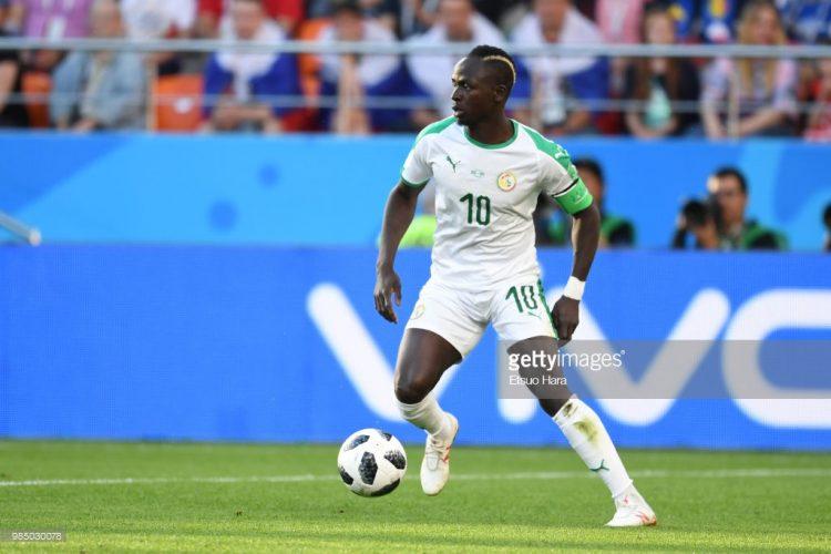 Sadio Mane of Senegal, world cup 2018