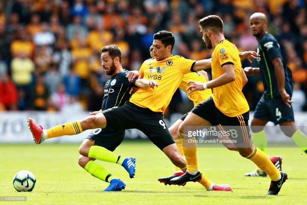 Raul Jimenez of Wolverhampton Wanderers