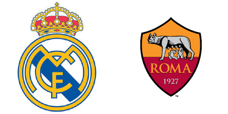 real madrid vs as roma champions league