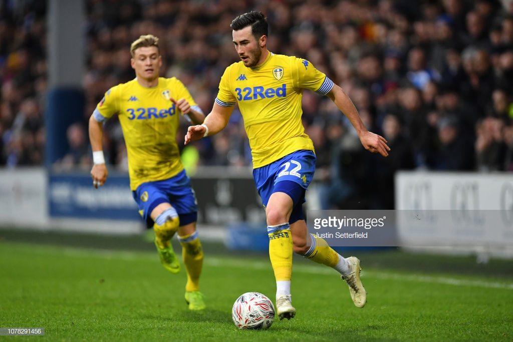 Jack Harrison of Leeds United