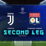 juventus vs lyon preview - champions league second leg